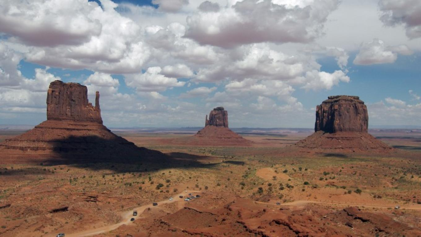 The Mittens at Monument Valley Tribal Park – Kathie Curley