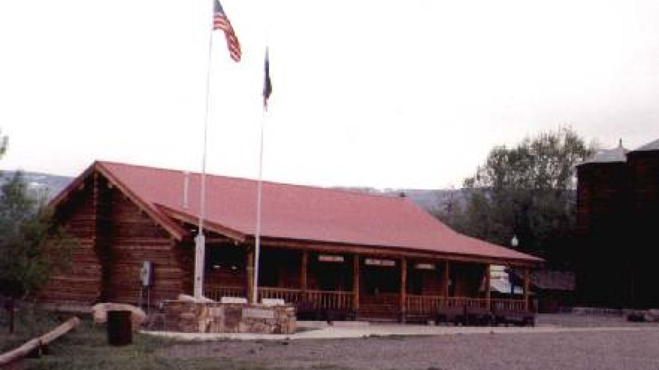 Welcome Center - Pioneer Town for - the Grand Mesa Scenic & Historic Byway