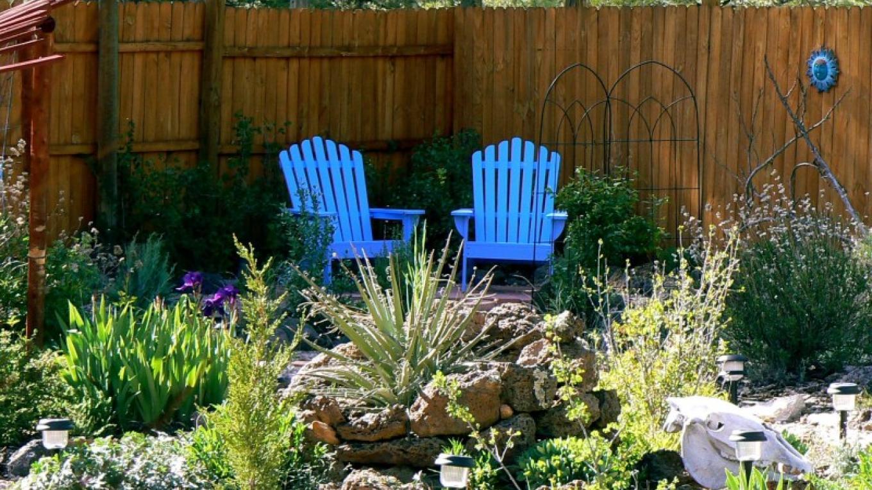 Relax in our wildlife habitat gardens. – Sheri McWethy Kennedy
