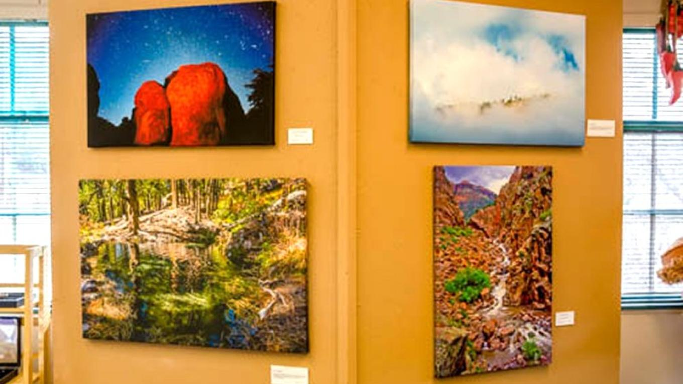 Theodore Greer's local photographs on canvas – Theodore Greer
