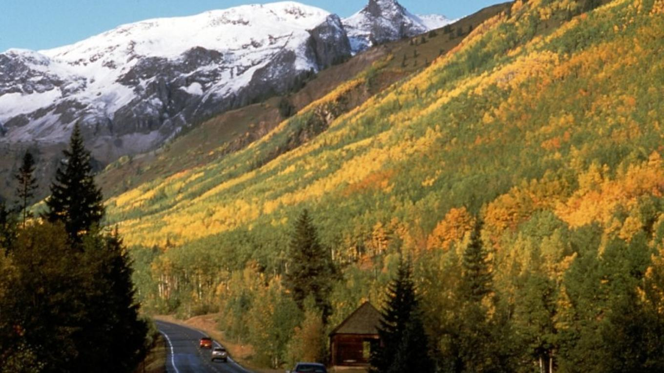 San Juan Skyway autumn scenery – Trust for Public Land
