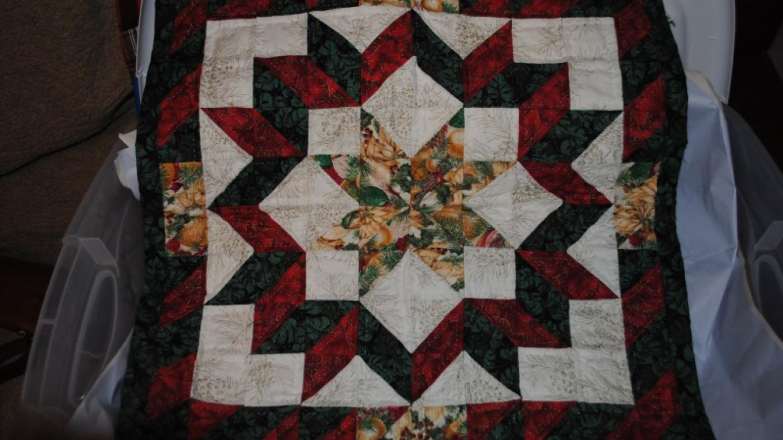 Hand-sewn Christmas wall hanging – Jake LaFore