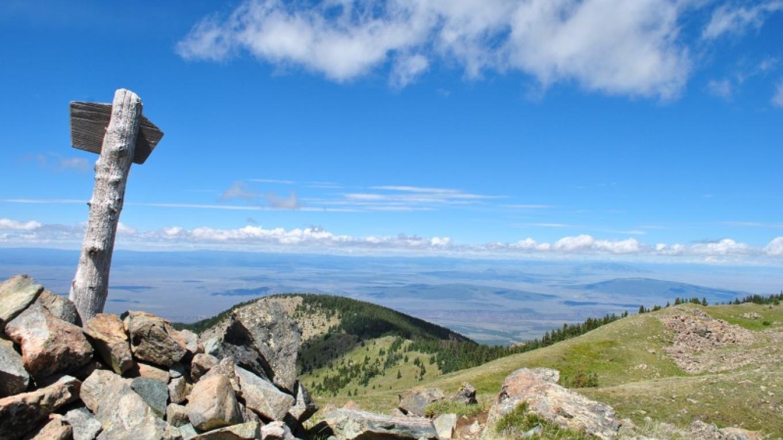 Lobo Peak. Colombine Hondo WSA – Jim O'Donnell