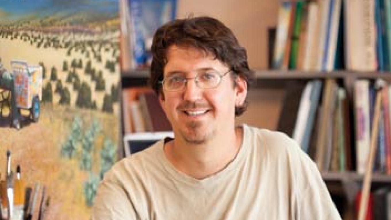 Randy in his studio – Eric Swanson - http://www.ericswanson.com/