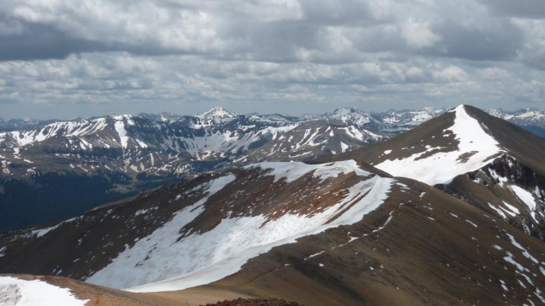 Sunshine Peak viewed Redcloud Peak – Bureau of Land Management