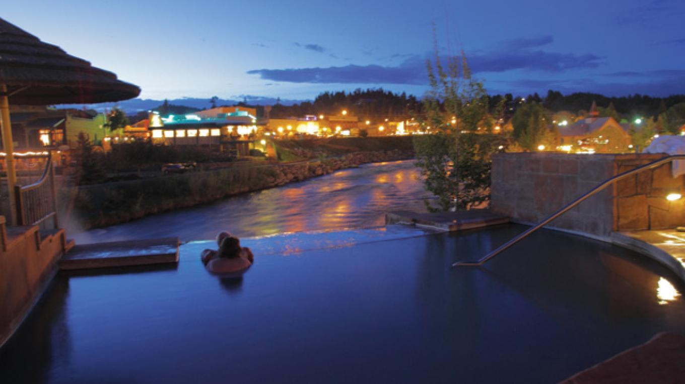 Twilight on the San Juan River – The Springs Resort