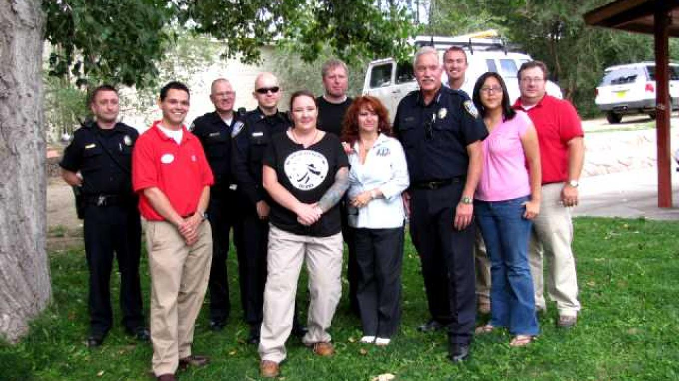 Aztec Police Department and Target National Sponsors – Ed Kotyk