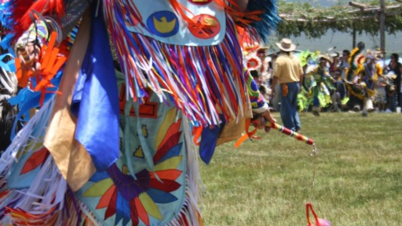 Dancer at the Taos Pueblo Pow Wow 2010 – Jim O'Donnell