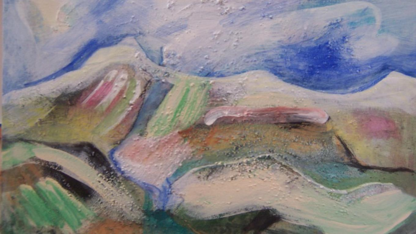 Mountain landscape – jennifer thomson