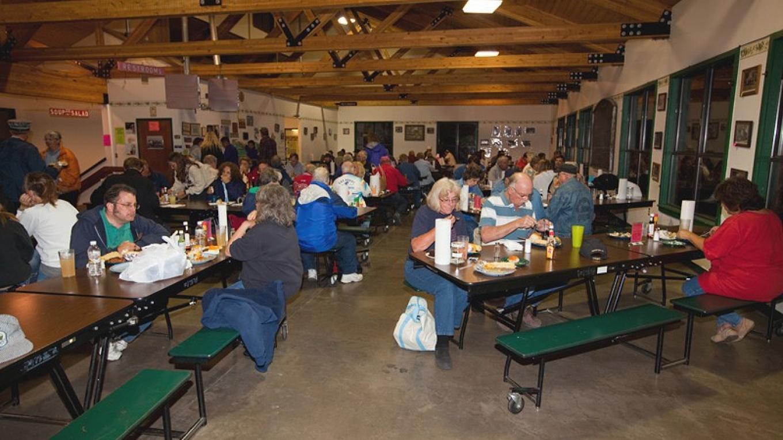 Enjoying A All You Can Eat Meal – Roger Hogan