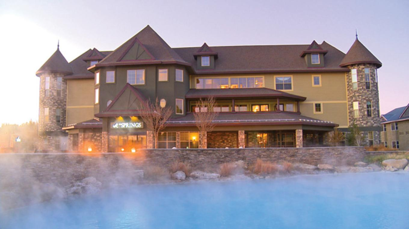 Sunrise at the EcoLuxe, Colorado's 1st Gold LEED certified hotel. – The Springs Resort