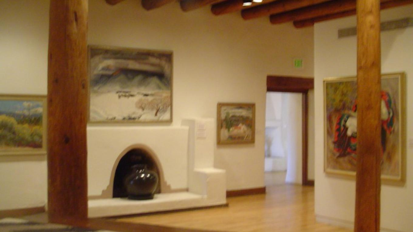 Brandenburg Gallery, featuring the work of the Taos Society of Artists