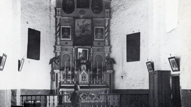 Interior of San Miguel Chapel – Brother Fabian