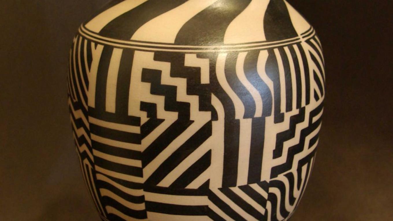 "Lisa Holt, Cochiti Pueblo, NM and Harlan Reano, Santo Domingo Pueblo ""Kewa"", NM – Derek Fisher"