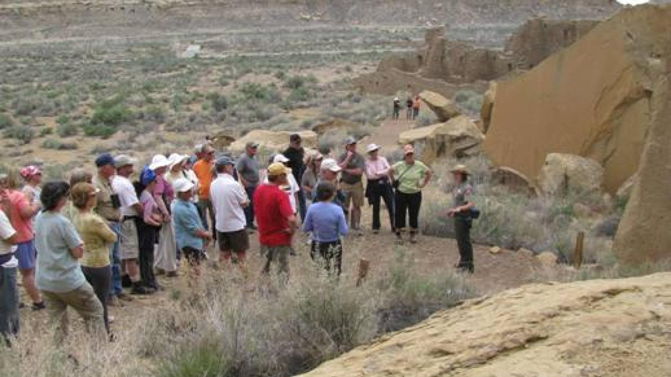 Ranger-guided tour at Pueblo Bonito – Joe Kennedy