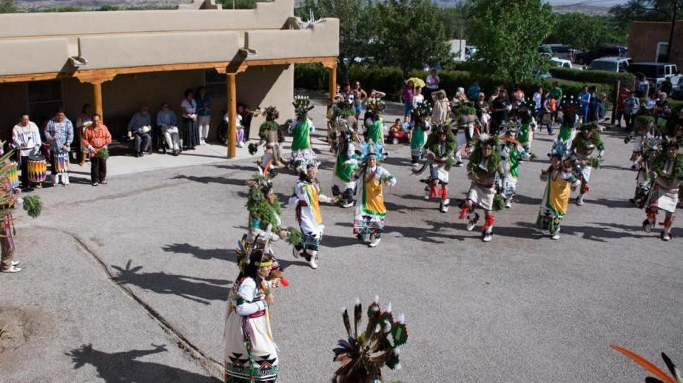 Feast Day Dancers, Santa Clara Pueblo – Michele Tapia Browning