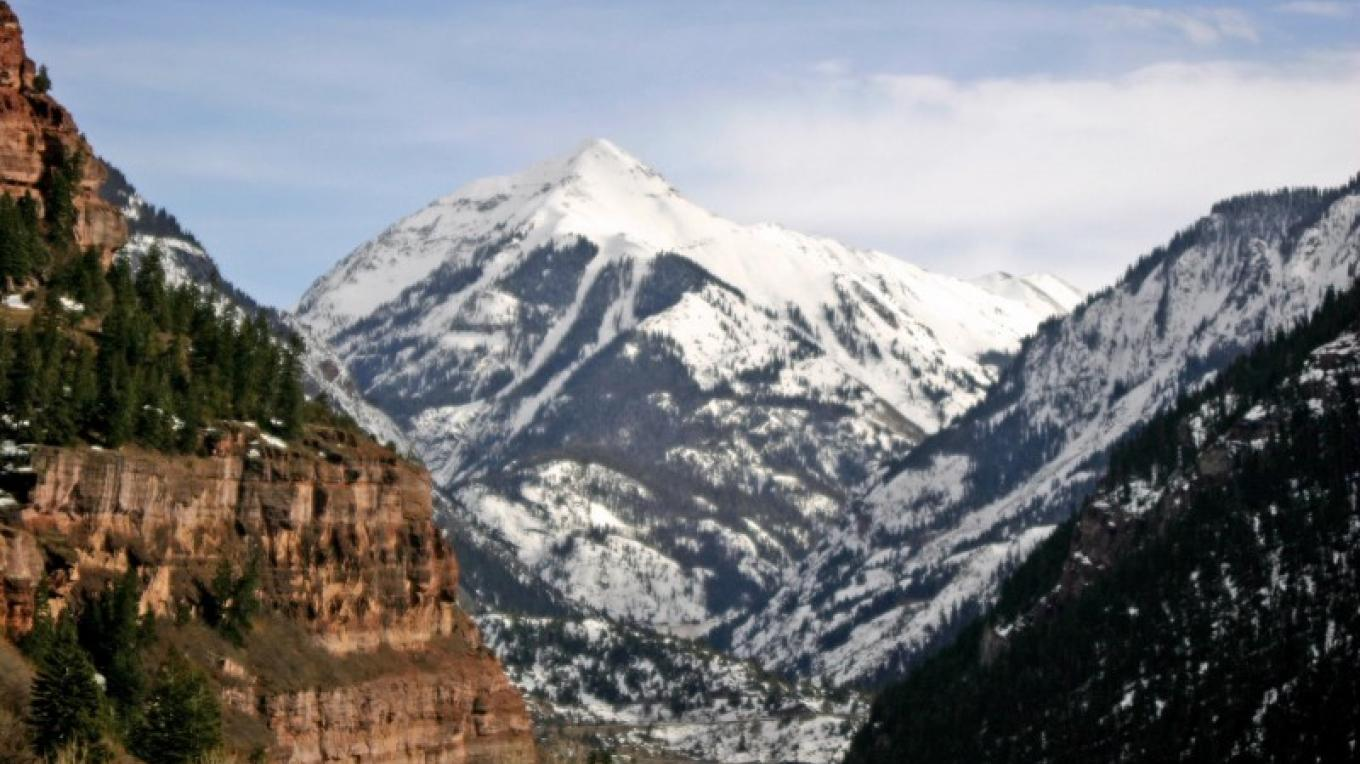Mt. Abrams and the entrance to Ouray – Karen Avery