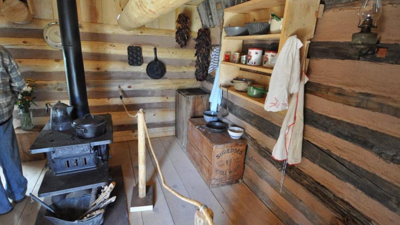 Interior of the Romero Cabin – Tom Sandford