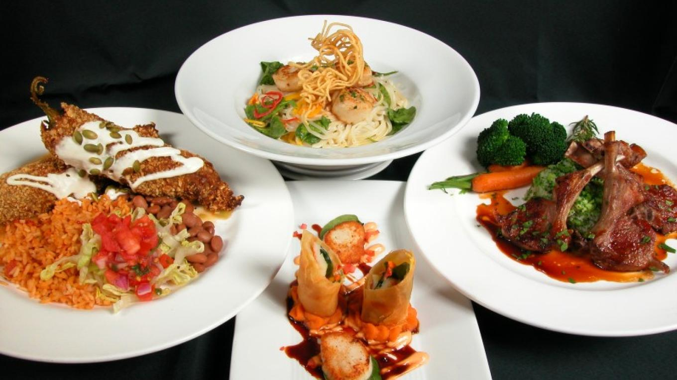 A sampling of sumptuous dishes from Doc Martins Restaurant. – Joe Burgess