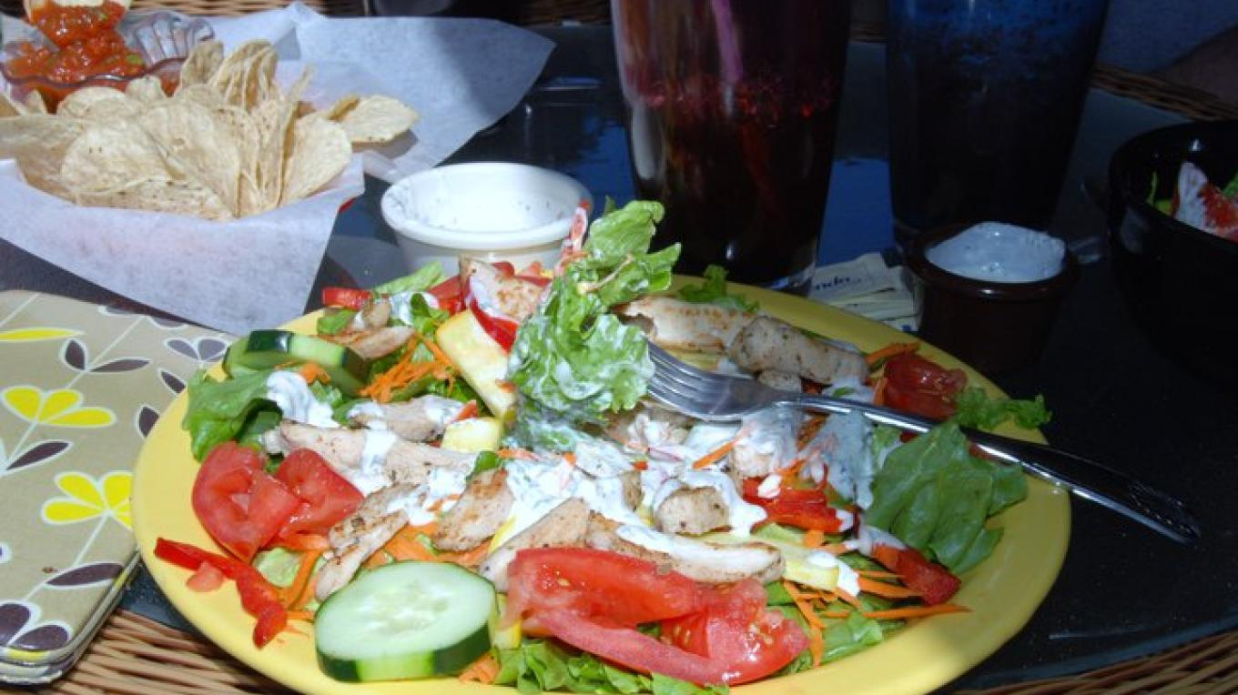 A Delicious Meal at the Ancient way Cafe – JennKyron Lyons