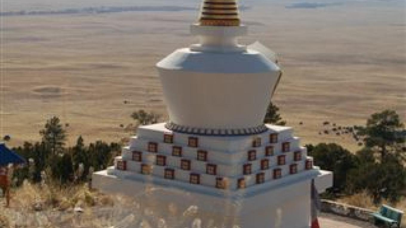 Crestone Big Stupa – Wonder Bob