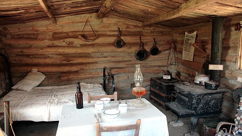 Inside the pioneer cabin – Dale W Anderson
