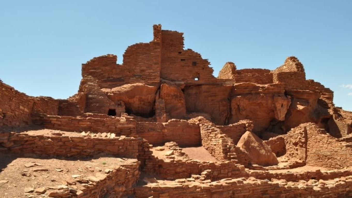 Some of the pueblos of  Wupatki were 3 stories tall. – Ron Robinson, Arizona Archaeological Society