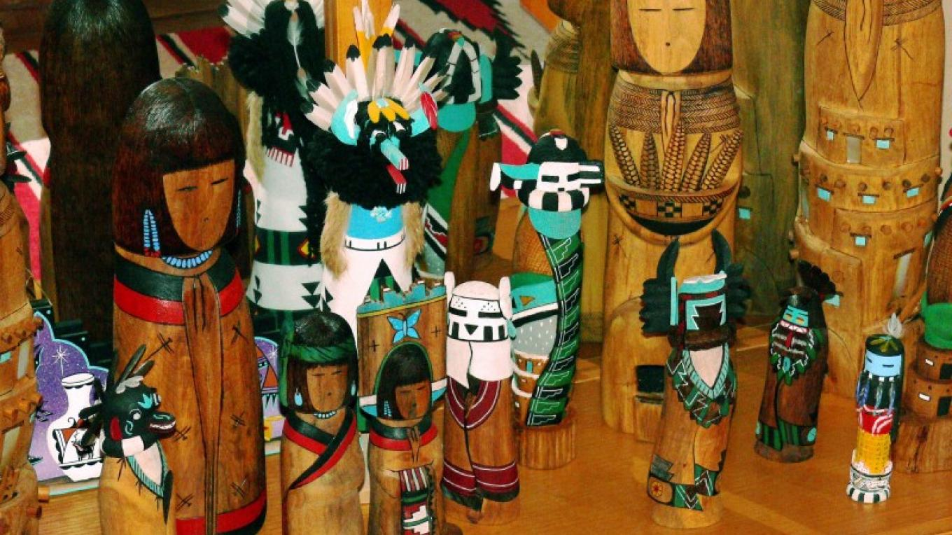 Cottonwood carvings from Zuni Pueblo. – Tom R. Kennedy