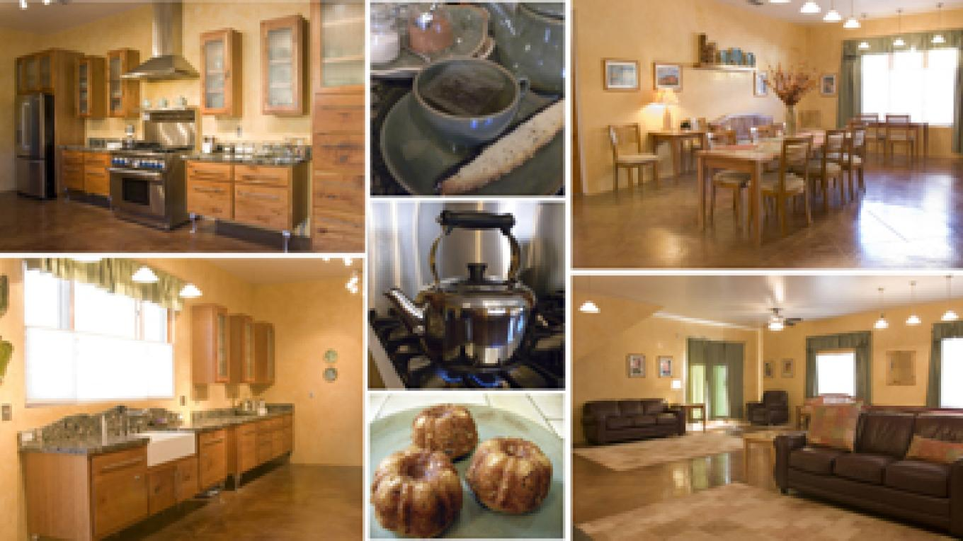 Inn- fully equipped kitchen, oversized dinning area, large recreation room with 2 fold out sofas – B Janecka