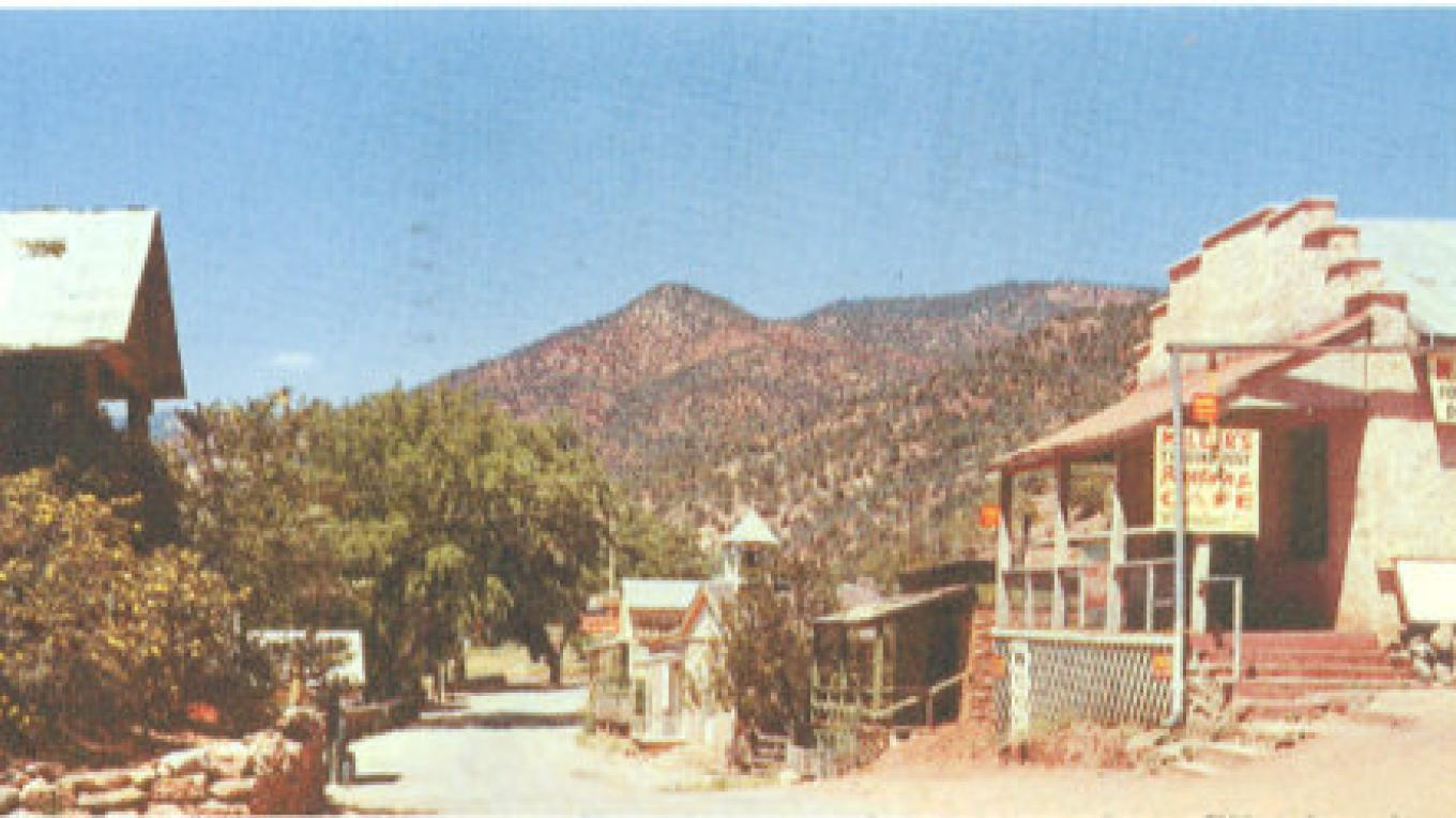1950's in Jemez Springs and the future Lizard
