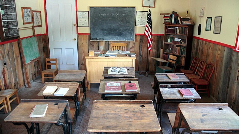 School room – Dale W Anderson