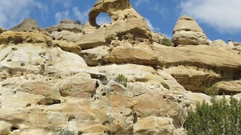 Roof Top Arch - Pilares Canyon – Edward M Kotyk