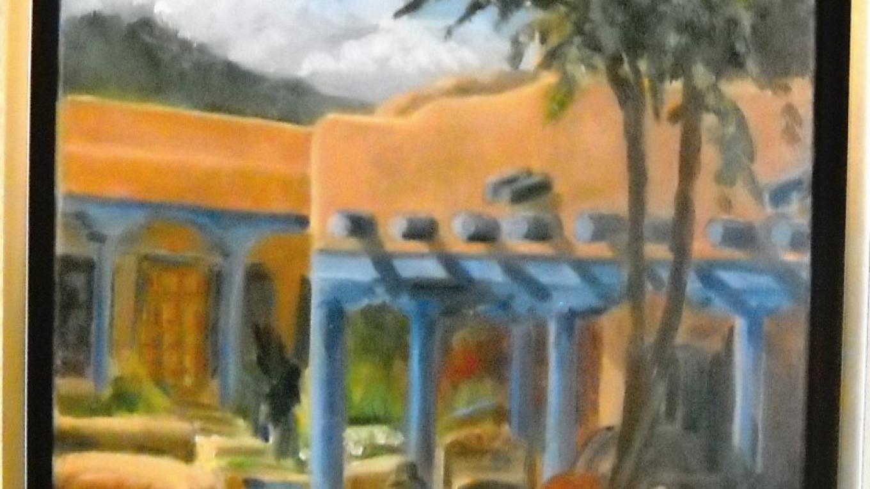 Square Corner, Taos Artist Deirdre Dyson – Eve Johnson