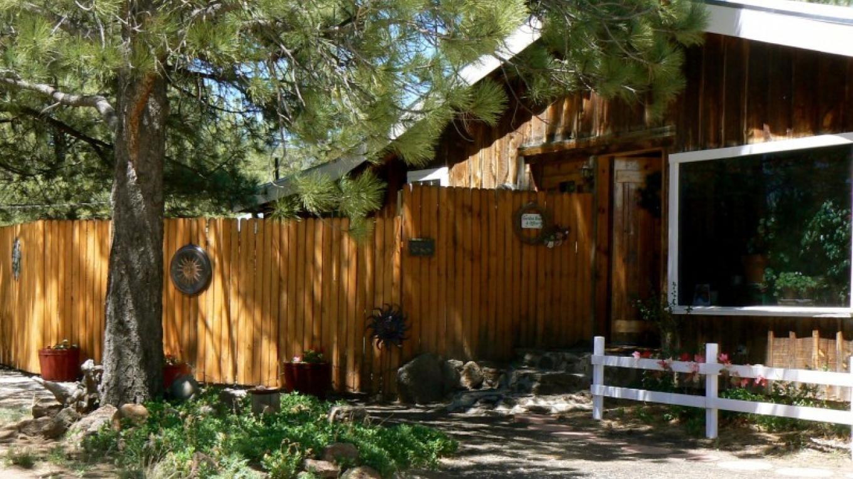 Rustic comfort at our Zuni Mt. B&B. – Tom R. Kennedy