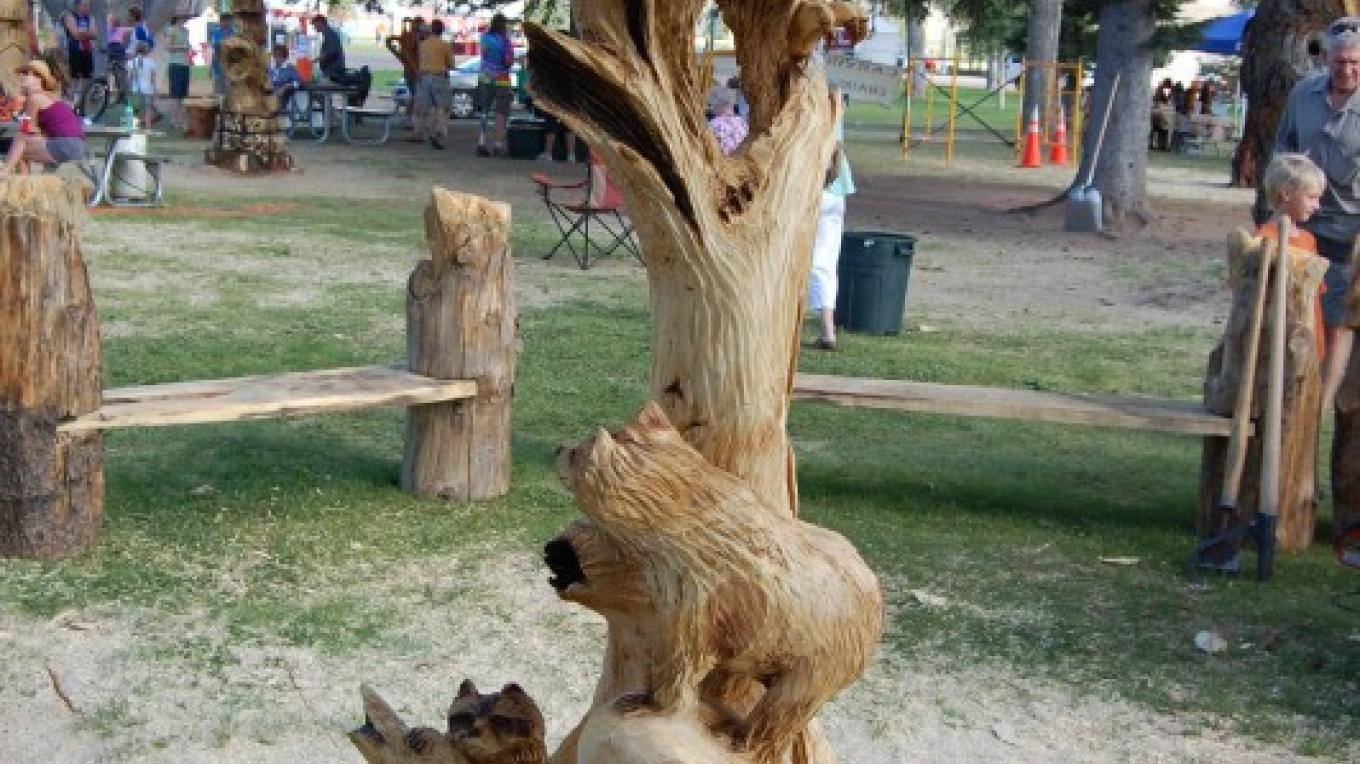 """1st place piece from """"Carvin up Colorado"""" competition in Gunnison, Colorado – Ken G Braun Jr"""