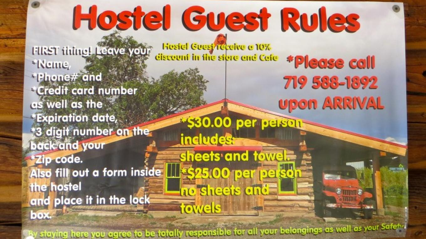 Hostel Guest rules – KimAnna Cellura-Shields