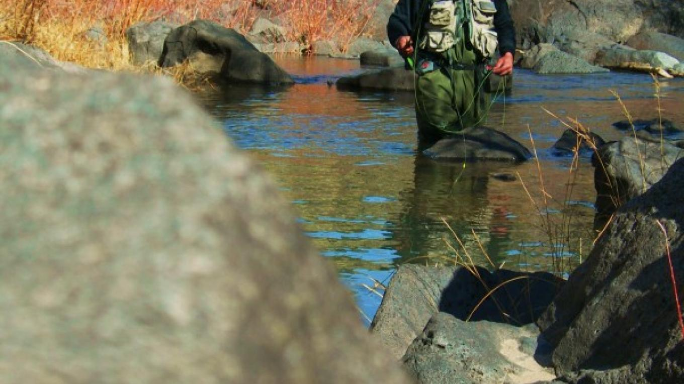 Fly-fishing the Rio San Antonio Gorge – Jim O'Donnell