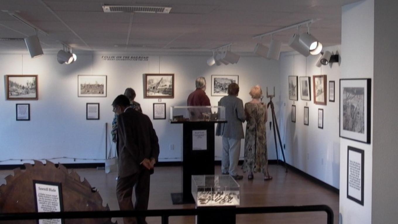 Zuni Mountain Railroad Exhibit opening. – Eve Johnson
