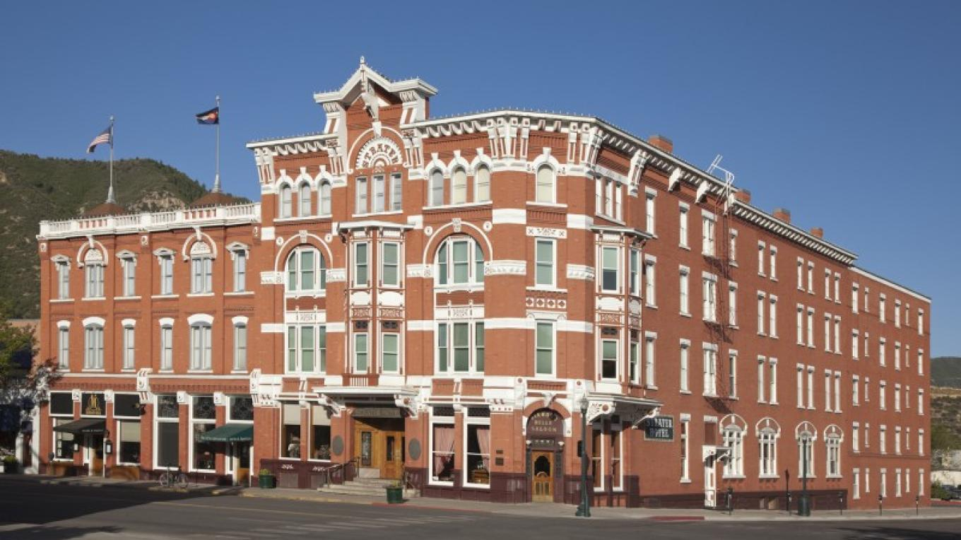 Strater Hotel on a beautiful bluebird day in Colorado. – ImageSmith Photography