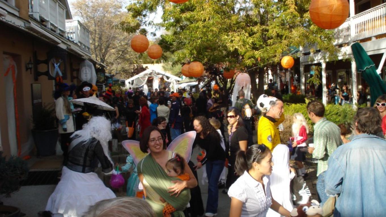 Halloween at the John Dunn Shops.