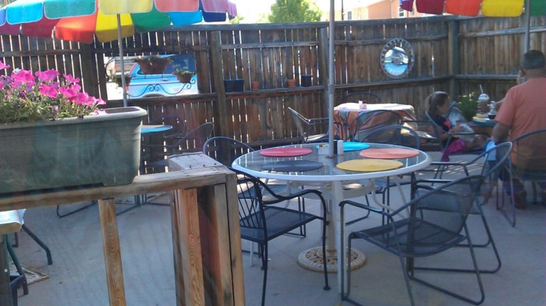 Outdoor Patio open in summertime – Linda Pak