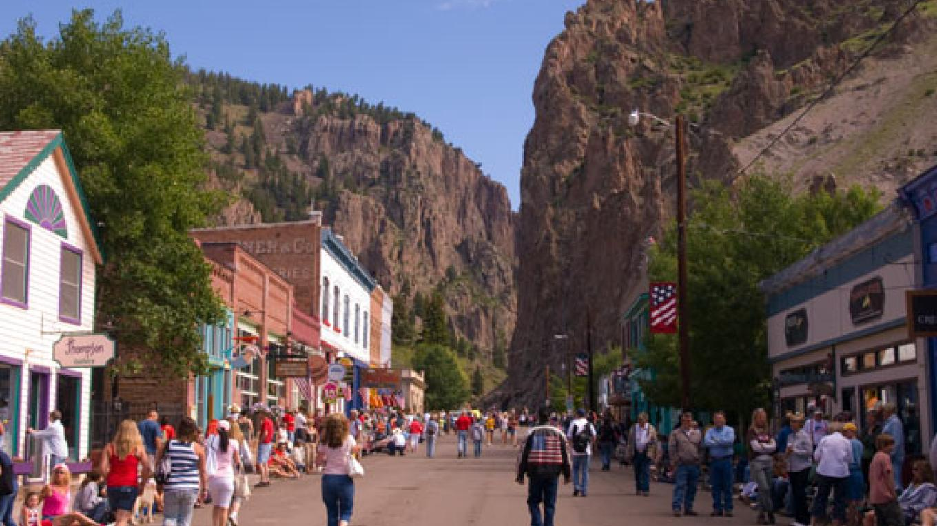 The show is located in Historic Creede Colorado, an 1890's silver boom town that still thrives today! – Kara Brittain