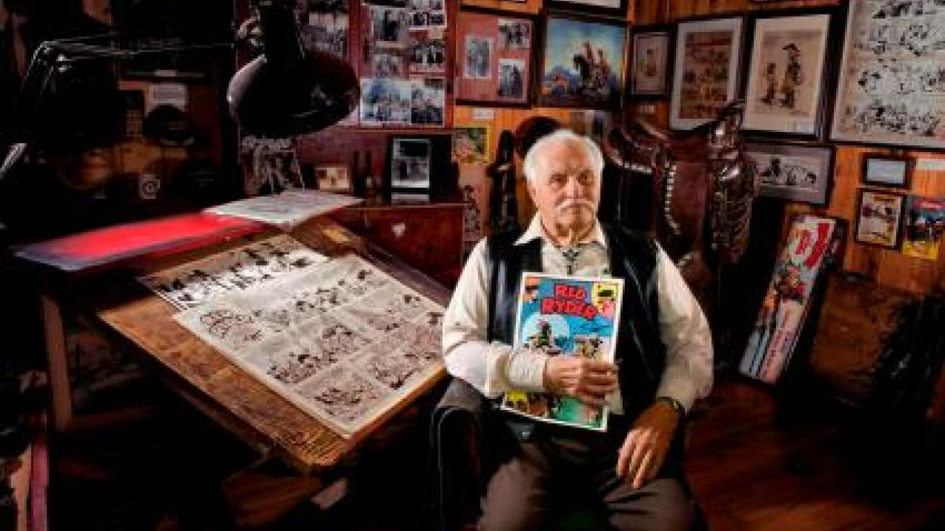 Fred Harman, Jr. pictured in the Fred Harman Art Museum. – Pagosa Springs Town Tourism Committee