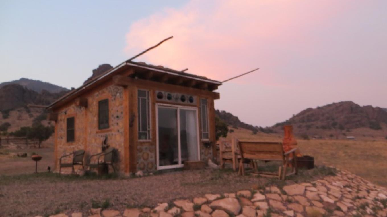 Mermaid Cottage at dusk – KimAnna Cellura-Shields