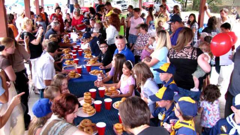 Donut eating contest – Ed Kotyk