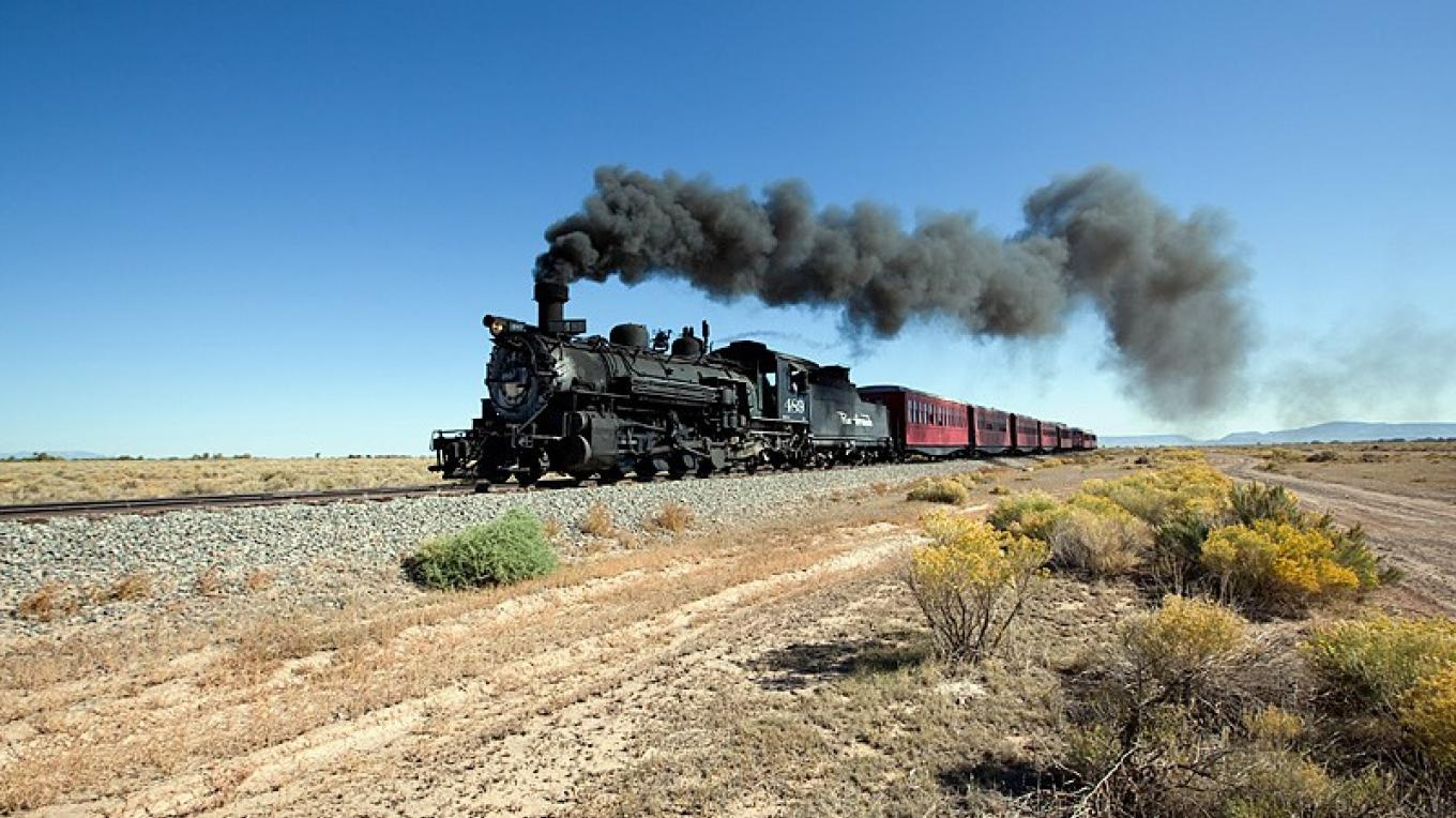 C&TSRR Westbound Towards The High Country – Roger Hogan