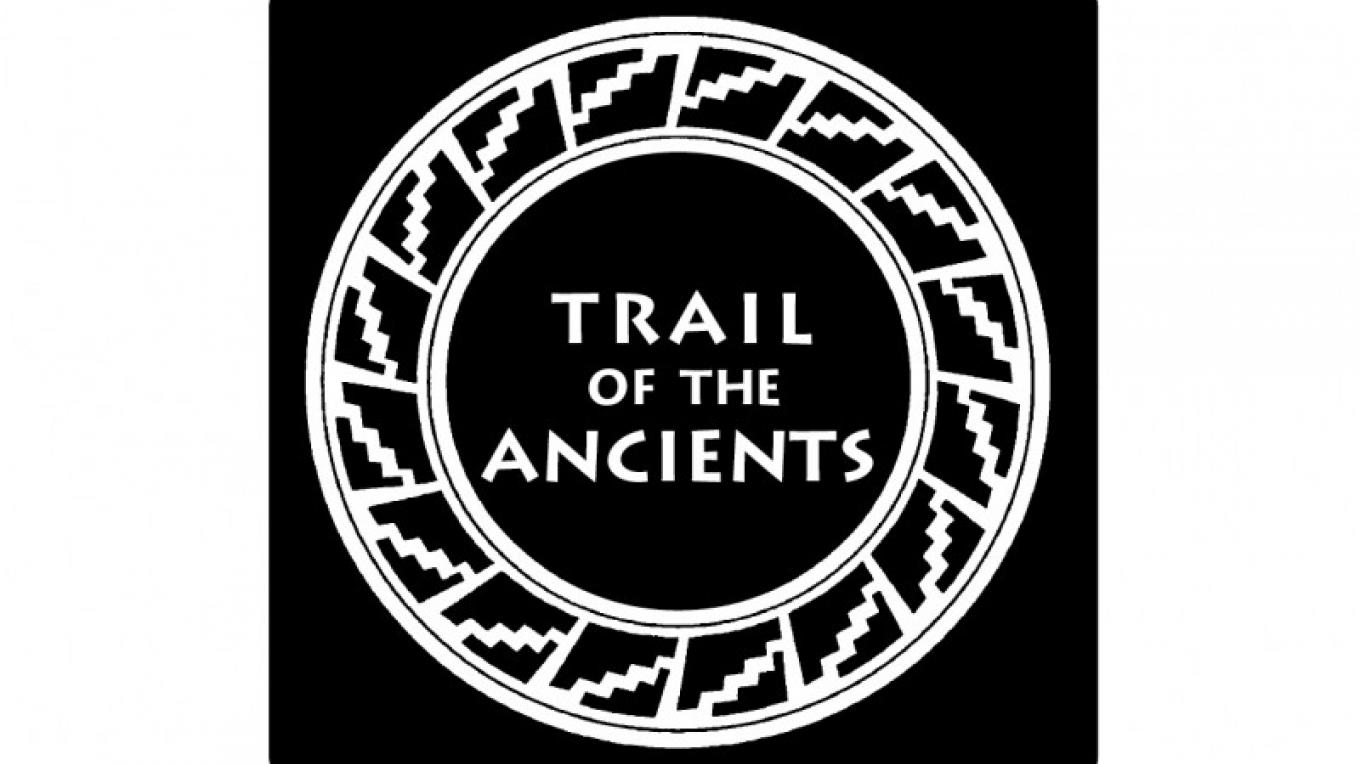 Byway sign for Trail of the Ancients – Courtesy of Trail of the Ancients