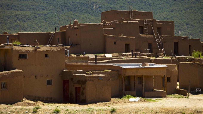Taos Pueblo – Aaron Burr