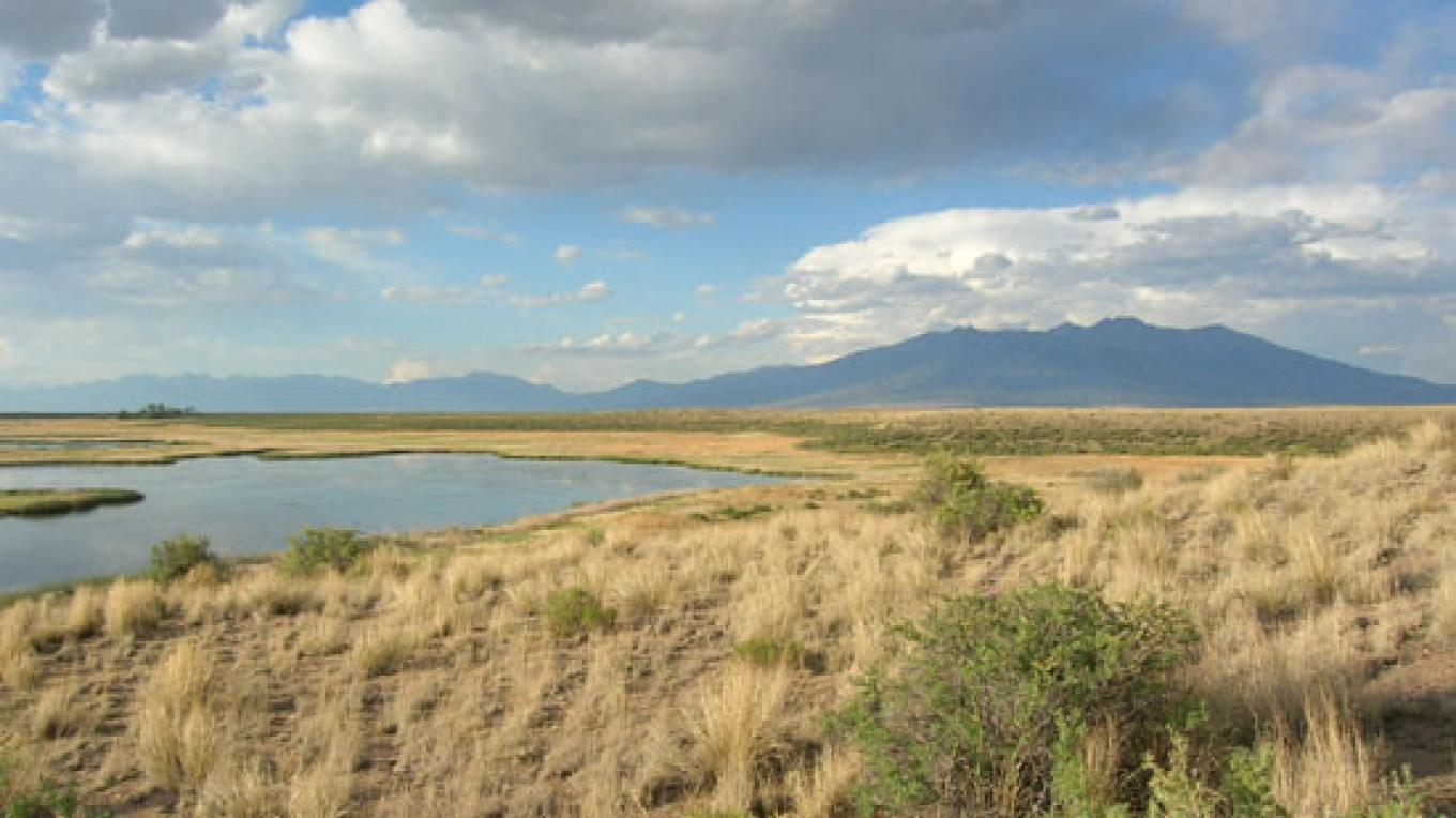 Alamosa National Wildlife Refuge is included in the Sangre de Cristo National Heritage Area. – Tawney Becker