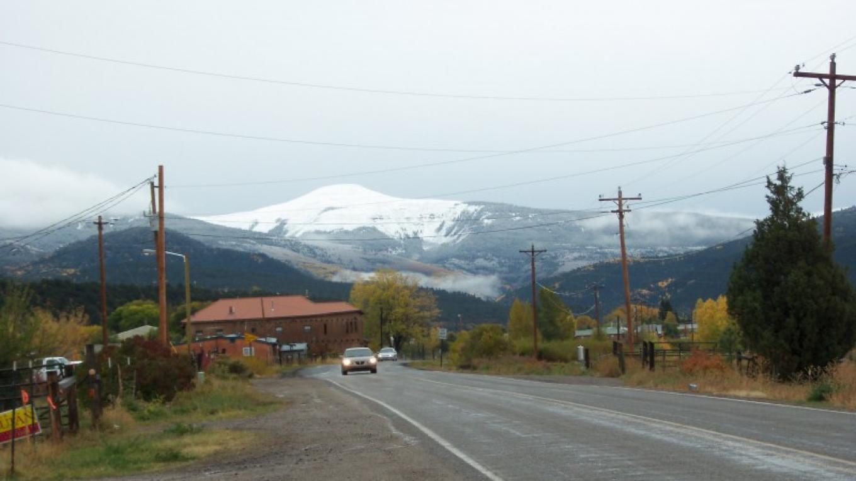First Autumn Snow on Jicarita – Johanna DeBiase